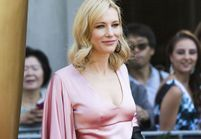Cate Blanchett, nue sous sa robe sur tapis rouge