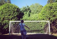 Harper Beckham : future footballeuse ?