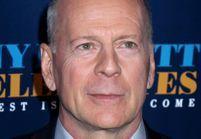 Incroyable : Bruce Willis porte une perruque de Donald Trump et s'avère être le sosie de Renaud