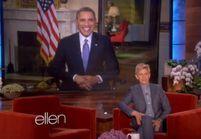 Barack Obama, jaloux du selfie d'Ellen DeGeneres aux Oscars