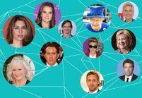 Lady Gaga, Ryan Gosling, Madonna… Ils sont tous cousins!
