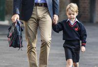 Vidéo : Le prince George fait sa première rentrée scolaire sans sa mère, Kate Middleton, malade