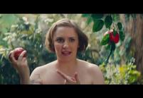 Lena Dunham se met nue pour parodier Eve