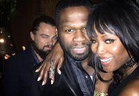 Leonardo DiCaprio fait un photobomb sur une photo de 50 Cent
