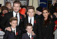 Les Beckham réunis autour de David pour ses débuts au cinéma