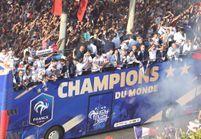 Les Bleus aussi ont été déçus et « dégoûtés » de leur descente en bus sur les Champs-Élysées