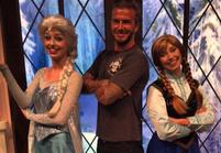 Les Instagram de la semaine: David Beckham, le roi des neiges