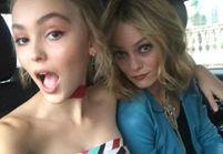 Les Instagram de la semaine: en voiture avec Vanessa Paradis et Lily-Rose Depp!