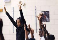 Michelle Obama veut faire boire de l'eau aux Américains
