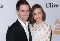 Miranda Kerr fiancée à Evan Spiegel, le fondateur de Snapchat