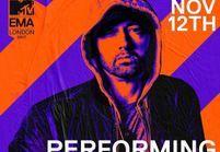 MTV EMA : le grand retour d'Eminem sur scène ce soir !