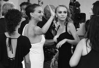 Natalie Portman enceinte : baby bump sur tapis rouge avec Lily-Rose