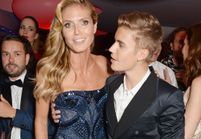 Non, Justin Bieber n'a pas dragué Heidi Klum à l'amfAR