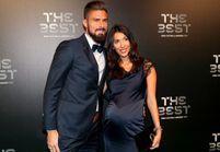 Olivier Giroud et sa femme Jennifer : bientôt un troisième enfant !