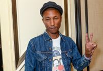 Pharrell Williams soutient Hillary Clinton pour 2016