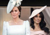 Pourquoi Meghan Markle était-elle au dernier rang sur le balcon de Buckingham, derrière Kate Middleton ?