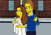 #Prêtàliker : le royal baby version Simpson