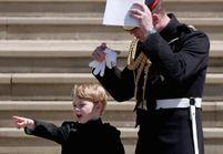 Prince George : véritable gentleman au mariage du prince Harry et Meghan Markle