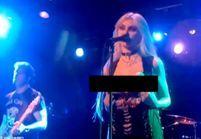 Scandale : Taylor Momsen montre ses seins en plein concert