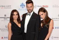 Victoria Beckham, Ricky Martin et Eva Longoria réunis lors d'une soirée caritative