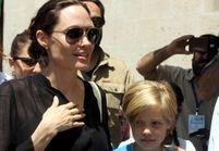 Vidéo : Angelina Jolie et Shiloh dans un camp de réfugiés syriens