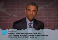 Vidéo : quand Barack Obama découvre les tweets méchants