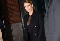 Le look du jour : Kim Kardashian joue la transparence à New York