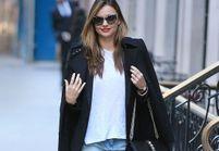 Le look du jour : Miranda Kerr, célibataire sexy à New York
