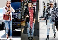 Le jean déchiré vu par les people