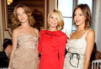 Claire Danes, Elisabeth Hurley et Jessica Alba au défilé Valentino