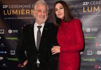 Monica Bellucci et Jean-Paul Belmondo : tendre moment de complicité à la cérémonie des Lumières