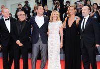 Ludivine Sagnier et Cécile de France sous le charme de Jude Law sur le tapis rouge de la Mostra de Venise