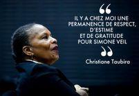 Christiane Taubira parle de Simone Veil : « Elle a été un phare pour moi »