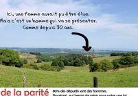 Parité : plus de 71% des circonscriptions n'ont jamais eu de femme à leur tête