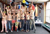 En images : les FEMEN ouvrent leur QG à Paris
