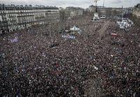 4 millions de personnes dans les rues de France: un rassemblement «sans précédent»
