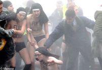 Agression des Femen : cinq hommes mis en examen