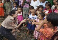 Angelina Jolie dénonce les violences faites aux femmes en Birmanie