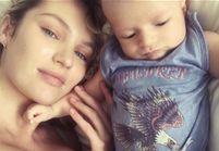Attaquée parce qu'elle allaite son fils, le top Candice Swanepoel se défend sur Instagram