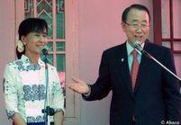 Aung San Suu Kyi fait son entrée au Parlement