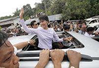 Aung San Suu Kyi salue le « début d'une nouvelle ère »