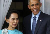 Barack Obama rencontre Aung San Suu Kyi en Birmanie
