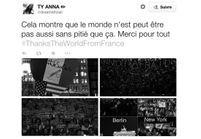 Charlie Hebdo : la France remercie le monde entier avec le hashtag #ThanksTheWorldFromFrance
