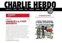 « Charlie Hebdo » lance son nouveau site Internet