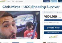 Qui est Chris Mintz, le survivant de la fusillade de Roseburg?