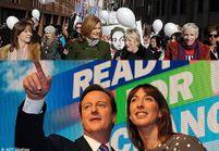 Grande-Bretagne : les femmes de candidats sortent de l'ombre
