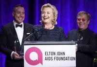 Hillary Clinton honorée par Elton John