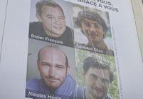Joie et soulagement pour les proches des quatre journalistes libérés