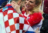 Kolinda Grabar-Kitarovic, la présidente croate, l'autre révélation du Mondial 2018