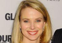 La PDG de « Yahoo ! » au travail après son accouchement ?